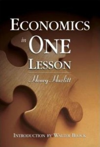 Economics in One Lesson (1)